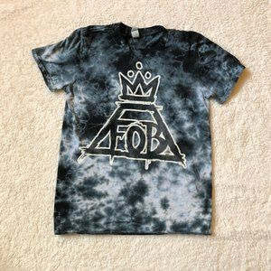Tie Dye Fall Out Boy Oversized Band Tee